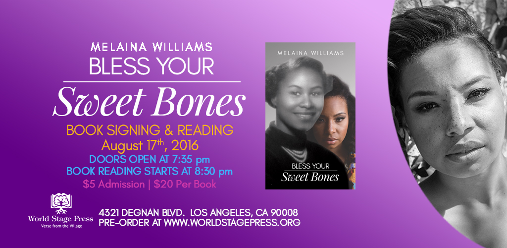 Bless Your Sweet Bones Melaina Williams Web slider Image Color