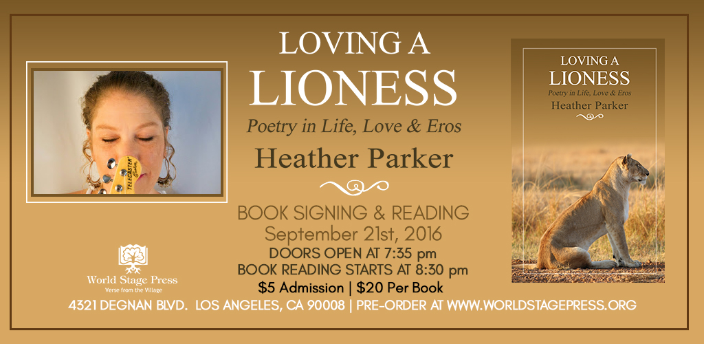 Loving a Lioness Heather Parker Web slider Image