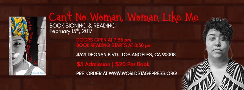 Jessica Gallion – Can't No Woman, Woman Like Me Front Web Banner