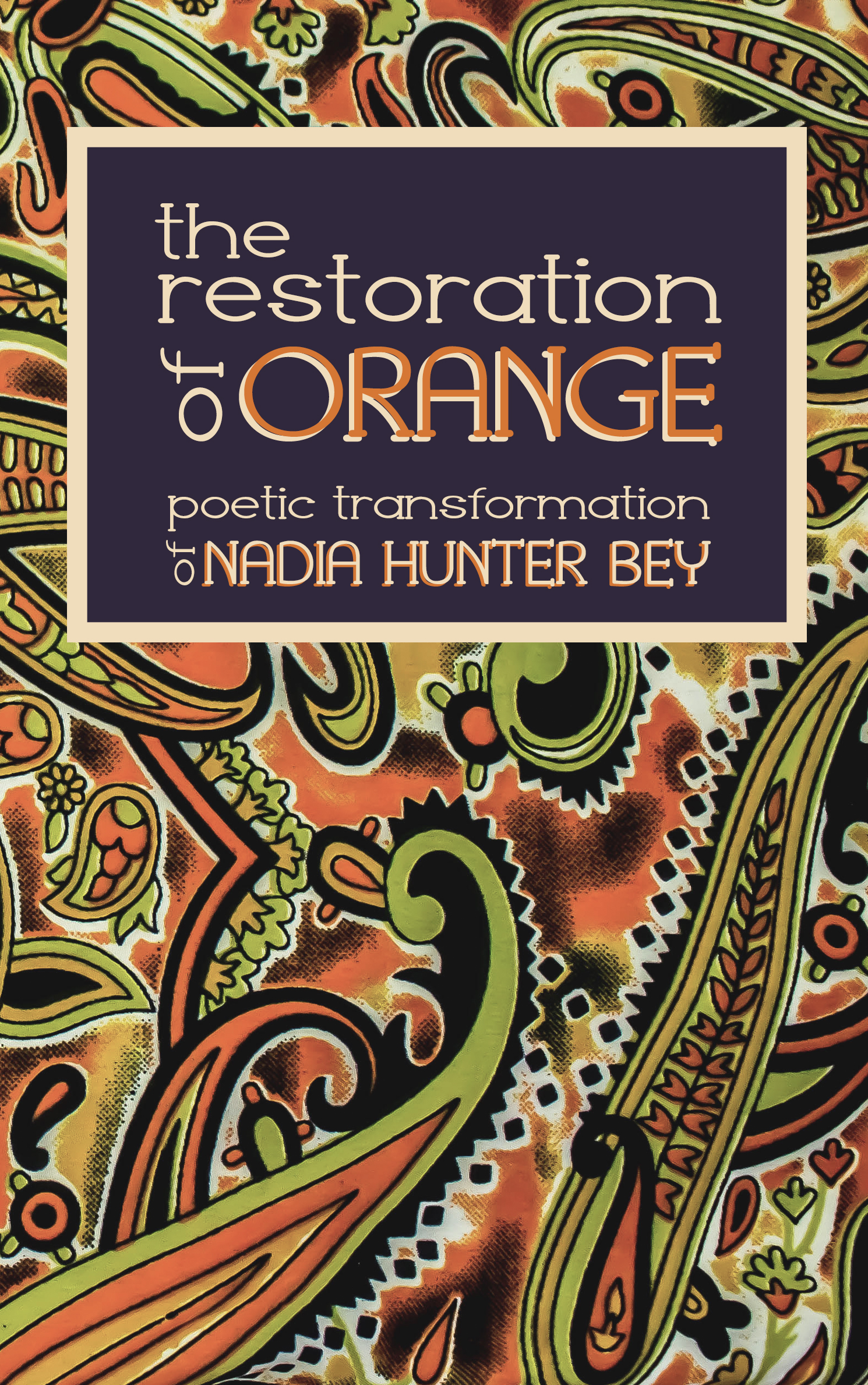 The Restoration of Orange 11 8 final